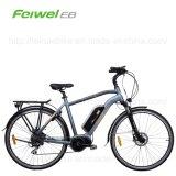 bicicleta eléctrica del mecanismo impulsor 700c de la manivela de los hombres medios del motor