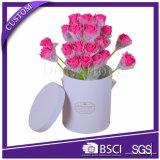 Коробка свежего цветка круглой формы рециркулированная бумажная упаковывая