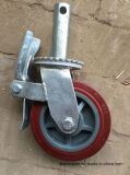 Nylonschwenker-Fußrolle dreht Baugerüst für Aufbau