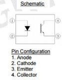 Componente elettronico dell'accoppiatore ottico EL817A per l'Assemblea del PWB