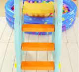 2017 Bear Style Goedkope kleine plastic Kids Slide (HBS17021D)