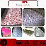 Alta hoja del Formica de /HPL del laminado del lustre