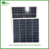 os painéis 50W solares polis com Ce e TUV certificaram