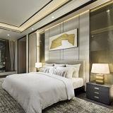Mobilia cinque stelle di vendita calda della camera da letto dell'hotel della mobilia di legno