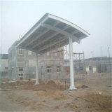 De mooie Structuren die van het Staal Post met BV- Certificaat bijtanken
