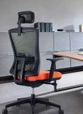 Cadeira executiva do giro traseiro elevado do escritório do engranzamento para a saliência