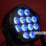 디스코 DJ 점화를 위한 12X15W Rgbwauv 6in1 LED 동위 빛