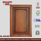 Porte en bois de Module de cuisine de modèle antique (GSP5-019)