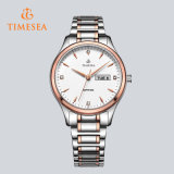 Reloj automático del cuarzo suizo del acero inoxidable para el hombre y Ladies72618