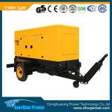 Générateur portatif réglé se produisant diesel mobile de remorque électrique de centrale