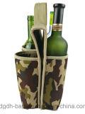 De hoogste Kwaliteit isoleerde 6 de Pak Houder van de Fles van de Wijn van het Neopreen Koelere