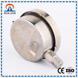 Kleines Öldruck-Anzeigeinstrument-China-Stahlglycerin gefüllter Druckanzeiger