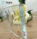 3mm-19mm extra ultra claro pintado de vidrio para el vidrio de construcción de decoración (UC-TP)