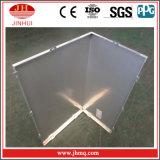 Facciata ad angolo retto di alluminio della parete dell'isolamento termico