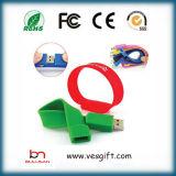 Затавренный USB устройства USB Pendrive Wristband силикона