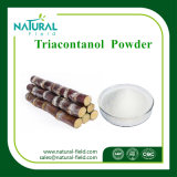 Extrait de cire de canne à sucre 90% Extrait de policosanol, poudre de policosanol poudre de triacontanol