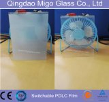 Color Tinted conmutable PDLC inteligente Film (autoadhesivo o no)