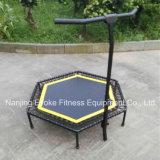 六角形の形のリバウンダーのベッド50インチの調節可能な大人の適性のTramplineの