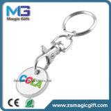 Fördernde Drucken-Laufkatze-Münze Keychain mit Carabineer