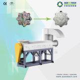 2000kg/H de plastic Wasmachine van het Recycling voor de Vuile Vlokken van het Huisdier
