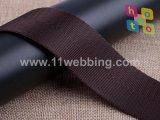 correas Herringbone negras del poliester 1.5inch para los accesorios del bolso