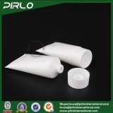 50g de witte Buizen van de Samendrukking van de Kleur pp Plastic met het GezichtsReinigingsmiddel die van de Room van de Hand van de Schroefdop de Zachte Lege Plastic Buizen van de Buis verpakken