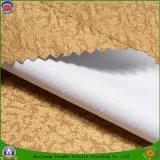 Tissu de rideau tissé par polyester imperméable à l'eau ignifuge à la maison en arrêt total de textile