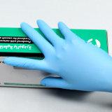 O pó descartável médico das luvas do nitrilo livra M=3.5gr