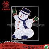 Сделайте свет водостотьким украшения формы снеговика 2D улицы белый для дома рождества