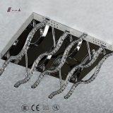 Einfacher Entwurfs-Aluminiumdecken-Beleuchtung mit Kristall