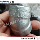 Codo apropiado de la soldadura del socket de la aleación de níquel (B619 Uns N10665, Hastelloy B2)