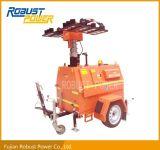 Tour légère mobile de DEL avec le générateur du diesel 4kw