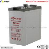 Batterie solaire 2V 2500ah de cycle profond exempt d'entretien de Cspower