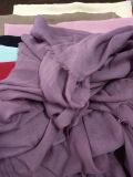 Voile variopinto della sciarpa del poliestere per il tessuto di tessile della signora Headscarf Muslim