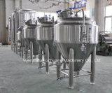 Réservoir conique de fermenteur de jupes de glycol de l'acier inoxydable 1bbl -300bbl