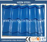 Chapas de aço onduladas Prepainted