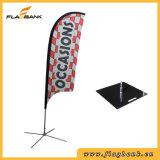 Bandeira pequena do vôo da impressão de Digitas da fibra de vidro da exposição/bandeira da pena