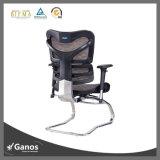 Presidenza ergonomica dell'ufficio della maglia comoda lombo-sacrale di base metallica