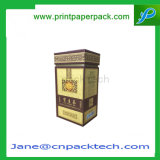 Caja de embalaje de té de fantasía Caja superior e inferior personalizada