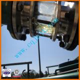 El aceite de motor usado del motor recicla la purificación de petróleo inútil de las refinerías que recicla la máquina