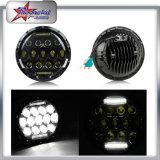 """Fábrica Super brillante 78W 7 """"ronda LED faro Hi y haz bajo con soporte para el coche Jeep Cherokee DRL"""