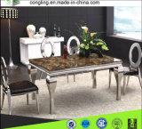 現代デザイン居間の安いステンレス鋼の家具