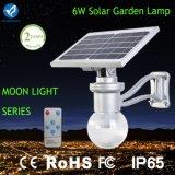 Bluesmart 6W 9W 12Wの道の庭公園の太陽ライトのための太陽庭ランプ