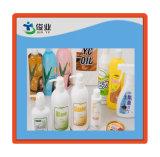 Etichette adesive di plastica di Iml in bottiglie di salto per sciampo, pulitrice