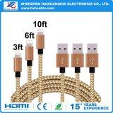 Зарядный кабель USB Sync перехода высокого качества для iPhone