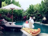 Игрушки воды кольца Swim лошади радуги раздувные, вода Inflatables