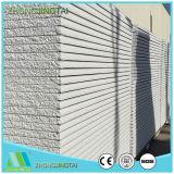 Paneles estructurales ligeros de sándwich compuesto para pared