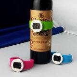Termômetro do frasco de vinho do indicador de Digitas LCD com o CE aprovado