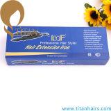 Ferro del connettore dei capelli del ferro di estensione dei capelli della cheratina di marca di Loof
