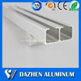 Profil en aluminium d'extrusion de longeron de piste de guide de 6063 alliages avec anodisé